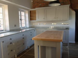 white kitchen fitted by valleybuild