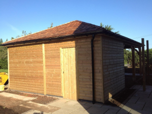 external building by valleybuild