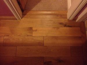 Flooring close up