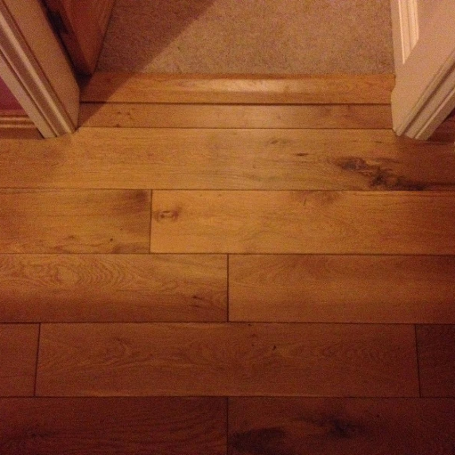Flooring close up