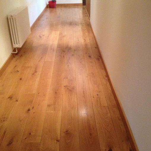 Flooring in the landing