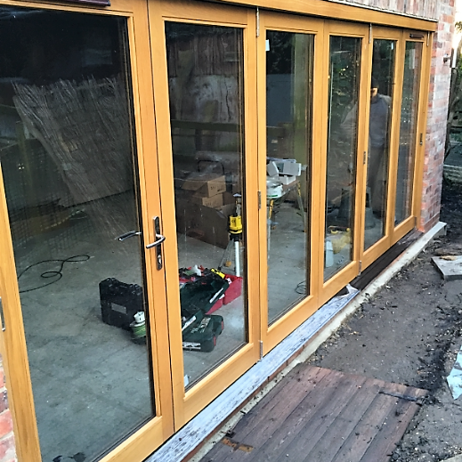 bi-fold doors by valleybuild