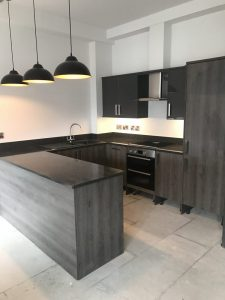 Fitted kitchen by Valley Carpenters