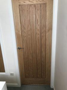 A new door by Valley Carpenters