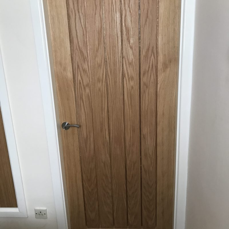 A new door by Valley Carpenters